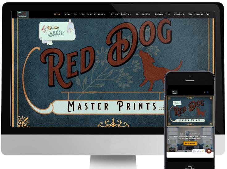 Red Dog Master Prints